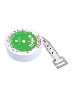 Matuoklis (centimetras) kūno masės indeksui matuoti 1 vnt.