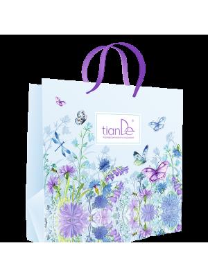 "Popierinis maišelis ""Drugeliai gėlėse"" 1 vnt."